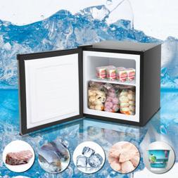 1.1CU.FT Compact Chest Freezer Single Door Household Compres