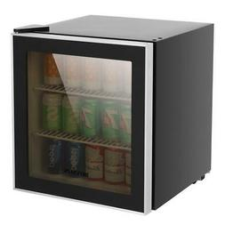 1.6 Cu Ft Free Standing Beverage Center Mini Fridge  Stainle