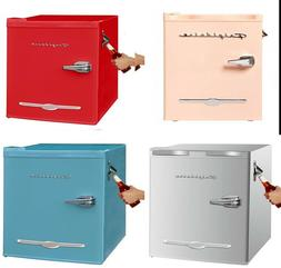 Frigidaire 1.6 cu ft Retro Compact Refrigerator with Side Bo