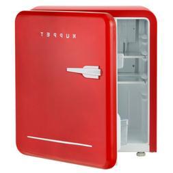 Retro Mini Fridge Compact Refrigerator Classic Freezer Dorm