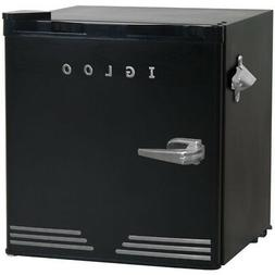 Igloo 1.6 CuFt Retro Fridge Dormitory Refrigerator  - FR176B