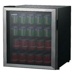 110 Can LED Lighting Beverage Center Cooler Mini Fridge Refr