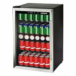 Frigidaire 126-Can Stainless Steel Beverage Wine Cooler Refr
