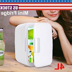 12V 4L Mini Refrigerator Fridge Portable Travel Auto Car Fre