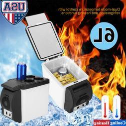 12V 6L Electric Cooler and Warmer Car Refrigerator Portable