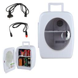 SMETA 15L Portable 110V/12V Warmer Heats Mini Fridge Cooler
