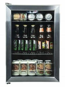 Newair 2.2 Cu Ft Beverage Center 84 Can Cooler Refrigerator