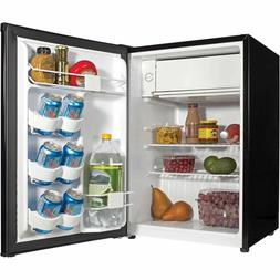 Haier 2.7 Cu Ft Refrigerator Compact Mini Dorm Black Office