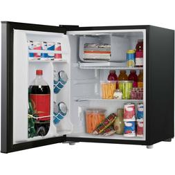 Dorm Room 2.7 CuFt Single Door Mini Fridge Stainless Steel T