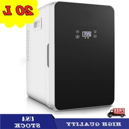 20L Mini Fridge Large Capacity Compact Cooler Warmer Digital