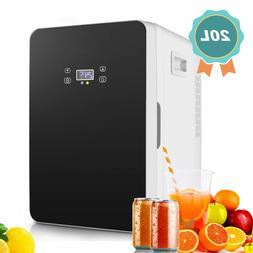 20L Mini Fridge, Mini Cooler for Food 60W Compact Refrigerat