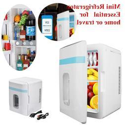 220V/12V Car Portable 10L Mini Fridge Freezer Cooler Refrige