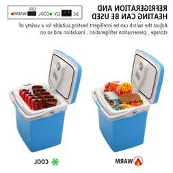 26L Electric Cooler Warmer Car Home Plug Portable Mini Fridg
