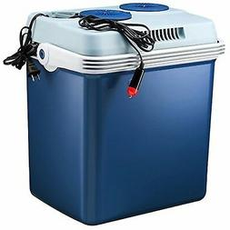 Knox 27 Quart Electric Car Refrigerator Cooler and Food Warm