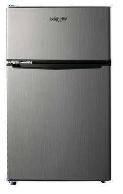 Whirlpool 3.1 cu. ft. Mini Refrigerator Stainless SteelBCD