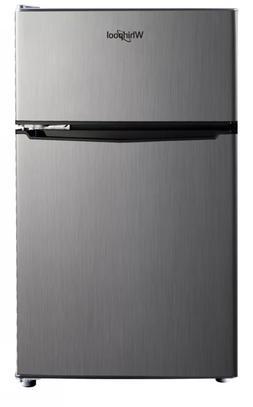 Whirlpool 3.1 cu. ft. Mini Refrigerator Stainless Steel BCD-