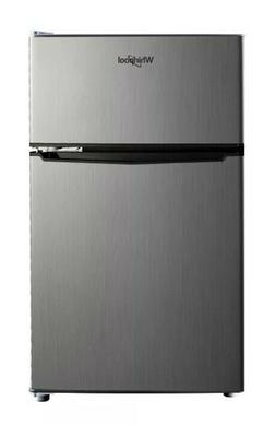 Whirlpool 3.1 cu ft Mini Refrigerator - Stainless Steel BCD-