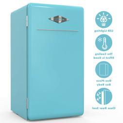 3.2 CuFt Retro Mini Refrigerator Fridge Compact Eco-friendly