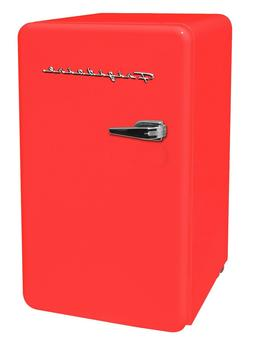 Frigidaire 3.2 Cu Ft Single Door Retro Mini Fridge, Small Re