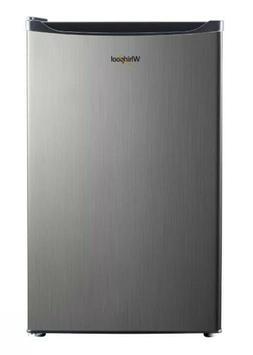 Whirlpool 4.3 cu. ft. Mini Refrigerator Stainless Steel