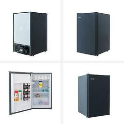 4.4 cu. ft. mini fridge in black | magic chef refrigerator h