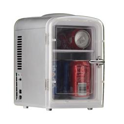 4.5L Mini Portable Fridge Cooler Lunch Warmer 12V DC AC Medi