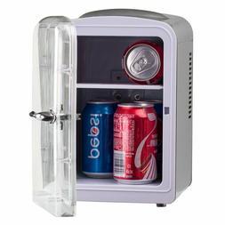 4L Mini Portable Skincare Fridge Cooler Breast Milk DC 12V A