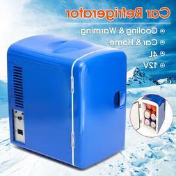 4L Portable Mini Fridge Cooler Warmer Heats Auto Car Boat Ho