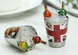 4PCS Mini Wine Bottle Home Kitchen Dector  Fridge Ice Bucket