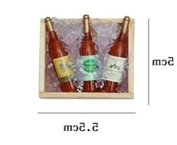 4PCS Mini Wine Bottle Home Kitchen Dector Fridge Refrigerato