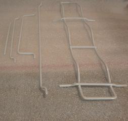 5 Piece Door Racks / Parts For IGLOO #IRF32BK 3.2 cuft/ Refr