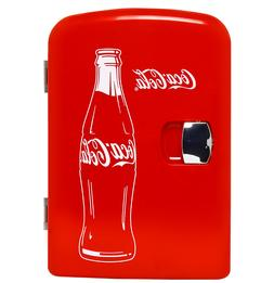 6-can Mini Fridge Portable Car & Home Outlet - Cords Include