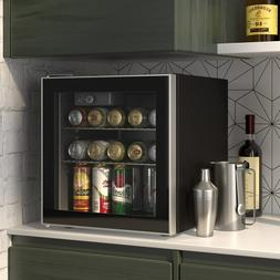 60 Can Beverage Mini Refrigerator Wine Cooler for Beer, soda