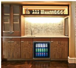 60Can Refrigerator Personal Mini Fridge Home Bar Beverage Co