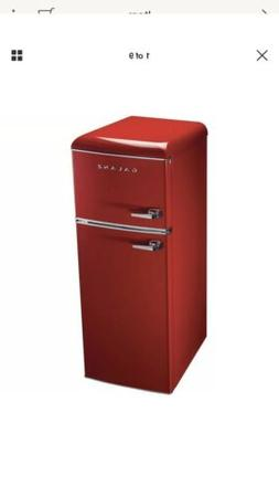 Galanz 7.6 cu. ft. Mini Refrigerator in Red Model BCD-215V-6