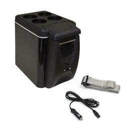 Aleko 7 Liter Portable Mini Car Fridge Carfr6Bk, Black