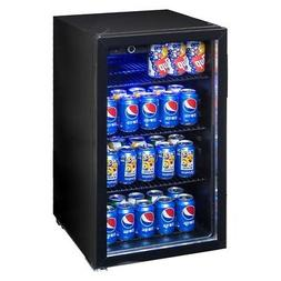 70W 120Can Beverage Mini Refrigerator Portable Machine With