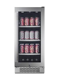 Avallon 86 Can Built-In Beverage Cooler - Left Hinge