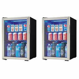 Danby 95 Can 2.6 Cu. Ft. Free Standing Beverage Center, Stai