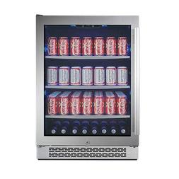 "Avallon ABR241SGRH 152 Can 24"" Built-in Beverage Cooler - Ri"