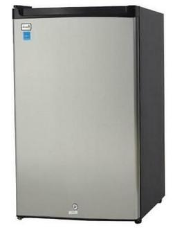 Avanti - 4.5 Cu. Ft. Compact Refrigerator - Black/stainless