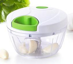 Kuuk Mini Pull Chopper Food Processor - Vegetable, Fruit, Ga