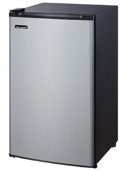 Magic Chef 3.5 Cu. Ft. Mini Refrigerator, Stainless