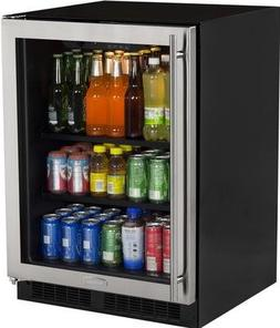 Marvel ML24BCG0RS Beverage Center, Glass Door, Right Hinge,