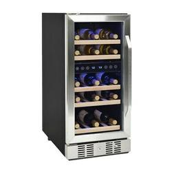 Newair - 29-bottle Wine Cooler - Stainless Steel