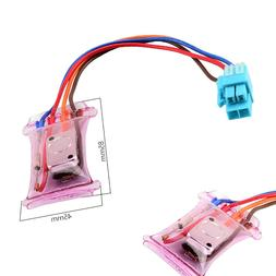 AC 250V 10A 4 cables Bimetal Fridges Defroster Thermostat Re