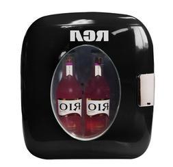 AC/DC RCA Portable Retro Mini Fridge  12-Can or 9L