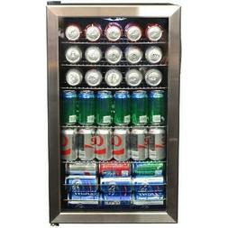 Air 126-Can Stainless Steel Freestanding Beverage Center