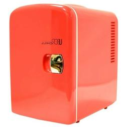 Uber Appliance Uber Chill 6-can Retro Personal Mini Fridge F