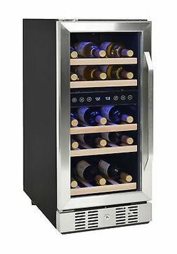 NewAir AWR-290DB Compact 29 Bottle Compressor Wine Cooler, B